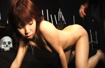 Horny Asian sex models Riho Yu and Natsuki get anal poking and fucking