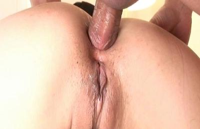 Cute gals Arisa Aoyama and Saki Asaoka enjoy anal pounding