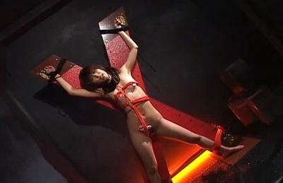 Lascivious Asian hottie Maho Sawai likes fetish sex on Asian anal porn