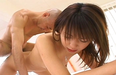 Alluring Japanese stunner Maho Sawai gets hardcore anal intrusion