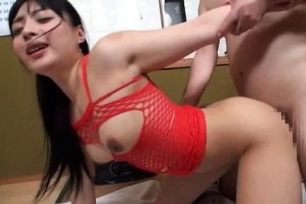 Awesome babe  Kokona Sakurai loves toys
