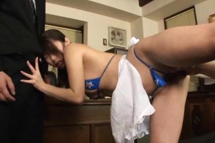 Shinoda Ayumi nailed in her juicy poke holes